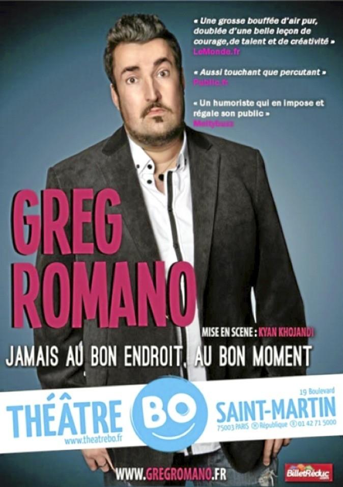 Greg Romano en spectacle