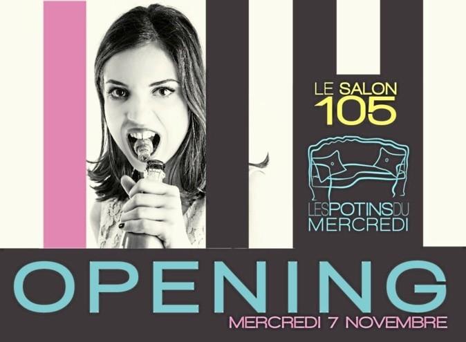 L agenda des copines du mercredi 7 novembre 2012 - Le salon 105 ...