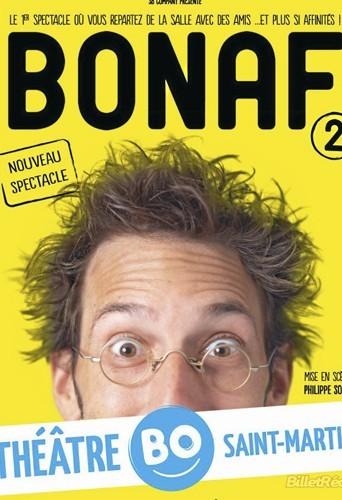 Bonaf 2 au Théâtre BO Saint-Martin, 19, bd Saint-Martin, Paris 3e. Tél. : 01 42 71 50 00. 20 €.
