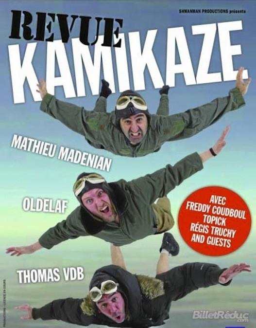 Revue Kamikaze, à La Boule Noire, 118, bd Rochechouart, Paris 18e. À partir de 19,80 € sur fnacspectacles.com
