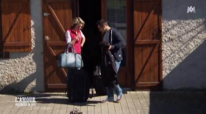 C'est le moment du départ pour Adrien !