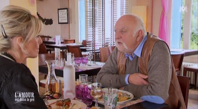 Premier déjeuner en tête à tête pour Cathy et Claude !