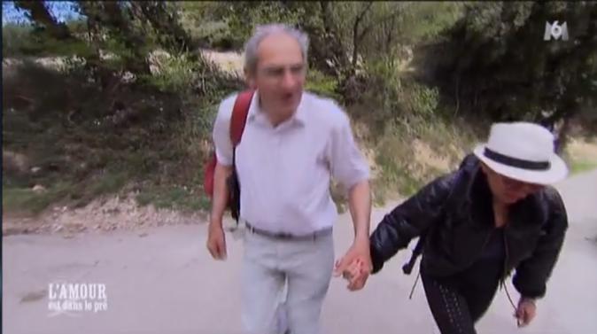 """Thierry et Annick sur la route des """"Dentelles de Montmirail"""""""