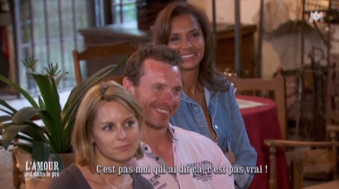 Franck et les deux Karine