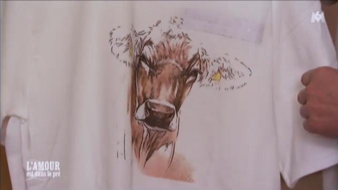 ... avec une tête de vache !