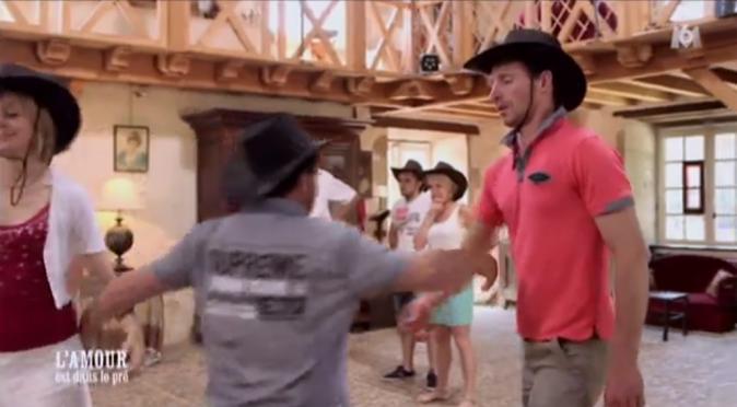 Petit cours de danse country avec Michel comme prof !