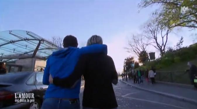 Balade parisienne en amoureux pour Claire et Adrien !