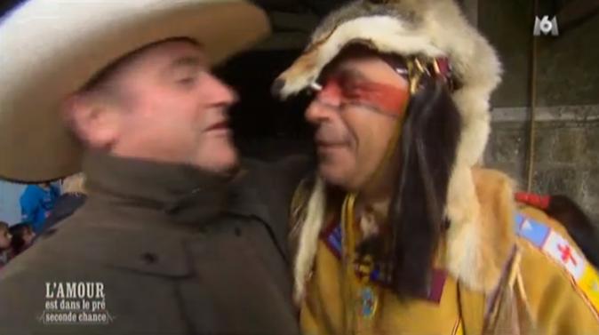 ... qui rencontre un indien !