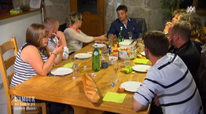 Le repas avec les copains chez Philippe l'Auvergnat