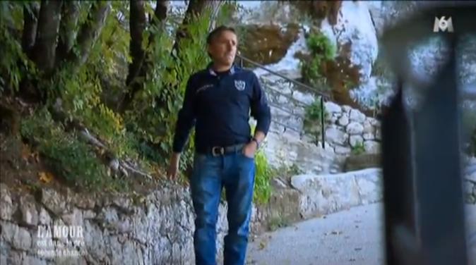 Philippe le Lotois fait du tourisme à Rocamadour