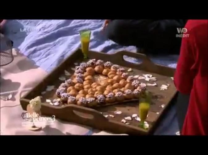 Luigi a préparé un plateau de chouquettes