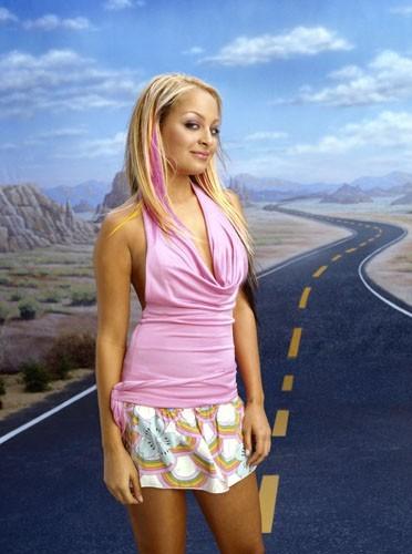 Nicole Richie à ses débuts à la télévision