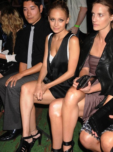 Nicole Richie dans la Fashion Week