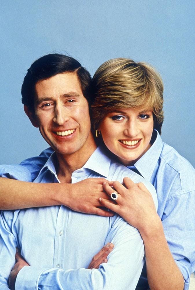 Photos : le couple en avril 1981, avant leur mariage...