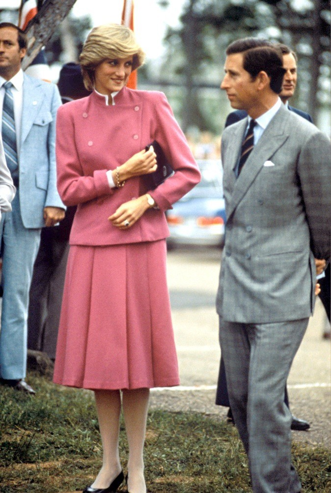 Lady Diana et le Prince Charles !