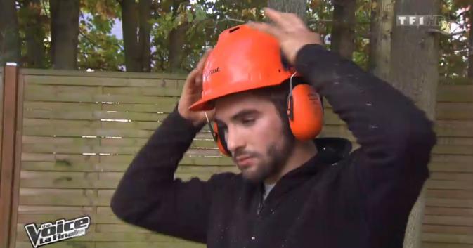 Kendji travaillait comme élagueur dans les forêts