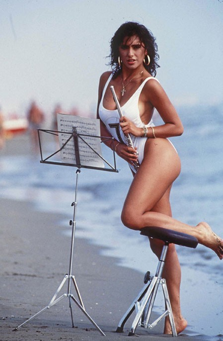 Sabrina Salerno dans les années 80