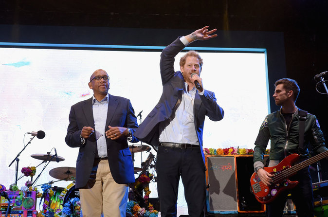 Le Prince Harry a organisé un concert pour Sentebale le 28 juin 2016