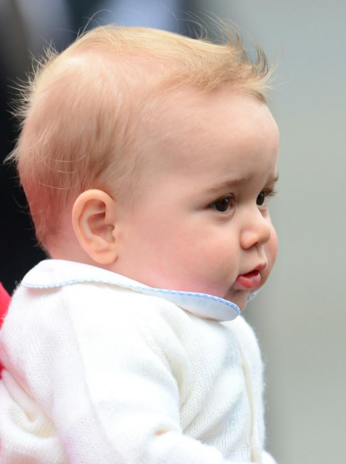 George de Cambridge, futur roi d'Angleterre !