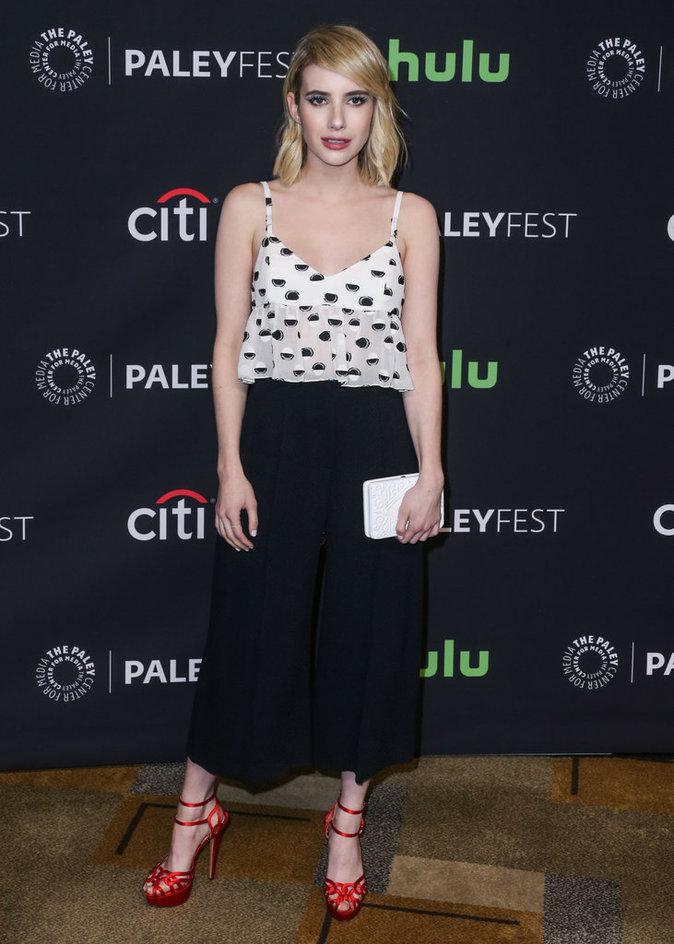 Emma Roberts a fait sensation à la cérémonie PaleyFest