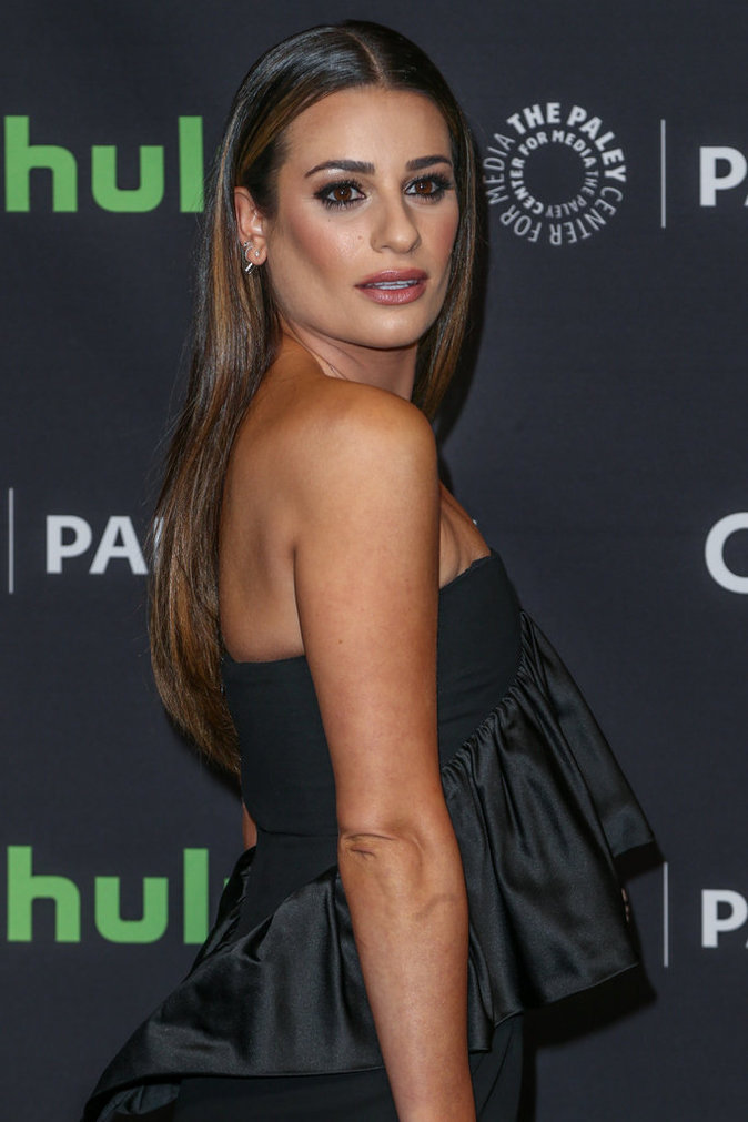 Lea Michele a misé sur une robe courte
