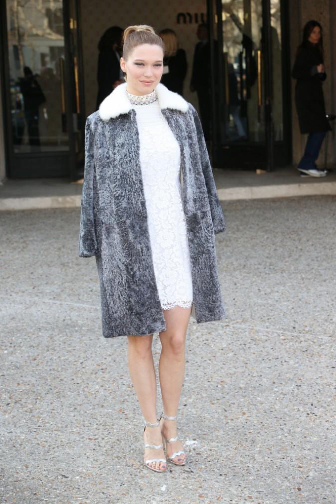 Photos : Léa Seydoux : Sublimement chic pour Miu-Miu !