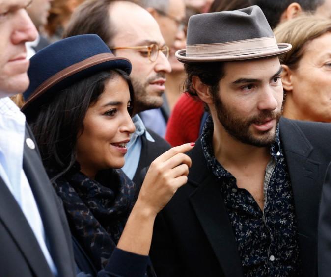 Leïla et Tahar à Lyon, en octobre 2013