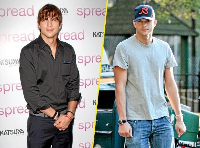 Ashton Kutcher, avant et après la Kabbale
