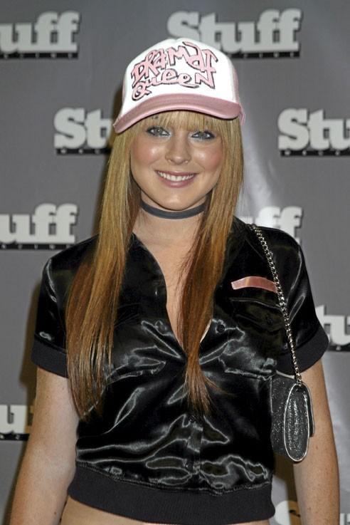 2003 : Premier blockbuster de sa carrière avec Freaky Friday. Lindsay respire la joie de vivre et ça se voit !