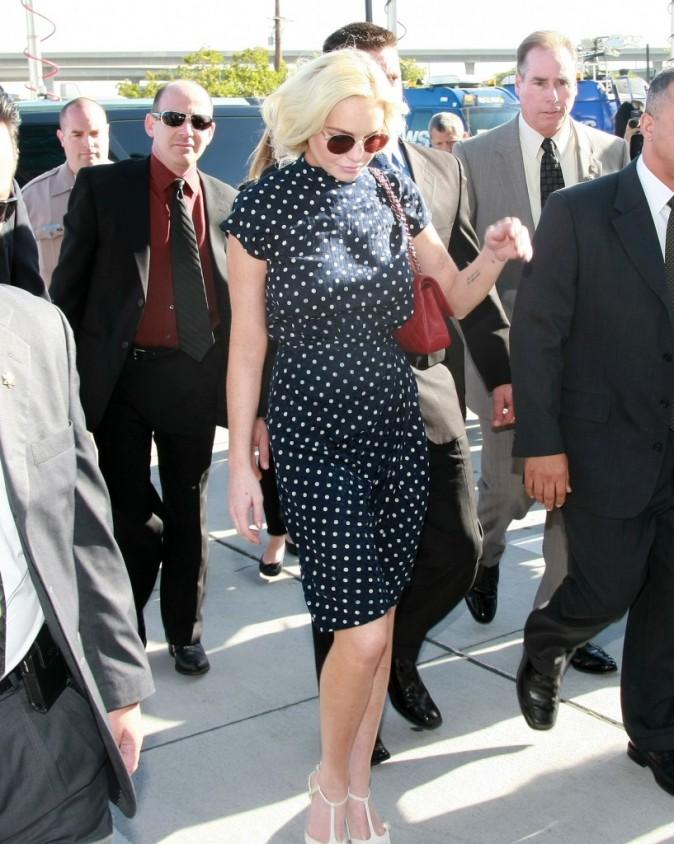 Dernière condamnation en date de Lindsay Lohan...