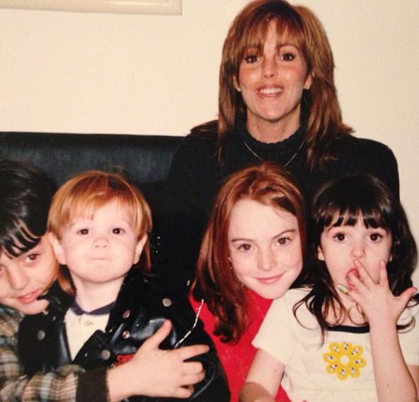 L'innocente famille Lohan ... Mais ça c'était avant !