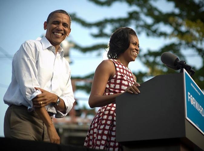 Look : Michelle Obama : sa robe ASOS à nouveau disponible à l'achat !