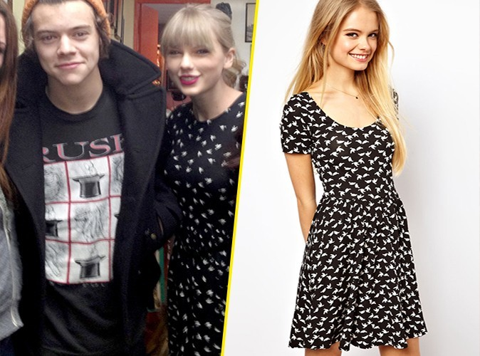Taylor Swift et sa robe ASOS