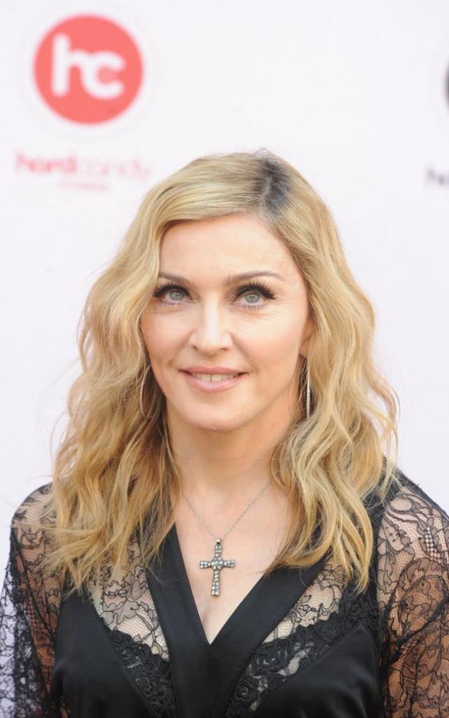 Madonna le 6 août 2012 à Moscou