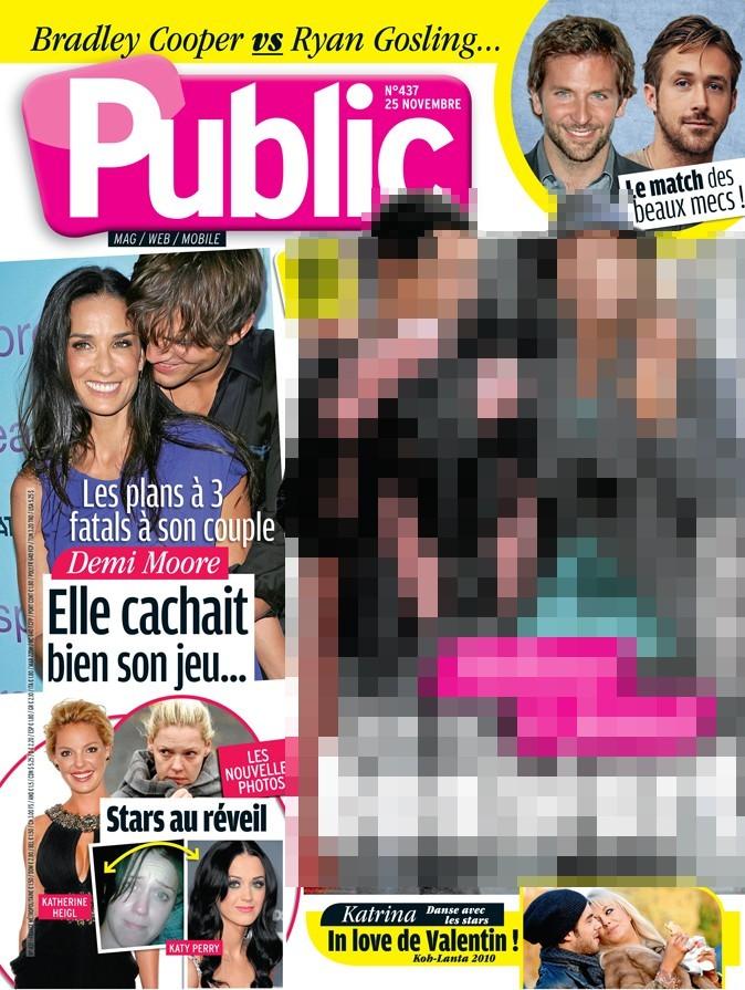 Magazine Public : Demi Moore et Ryan Gosling en couv !