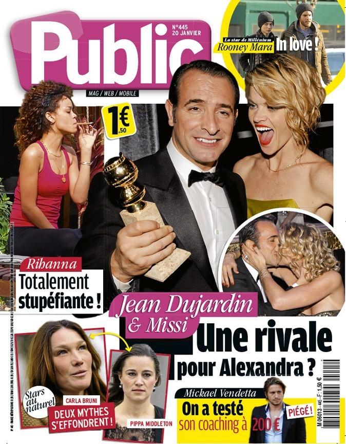 Jean Dujardin : une rivale pour Alexandra ?