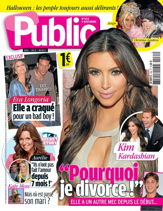 Le divorce de Kim Kardashian en couv !