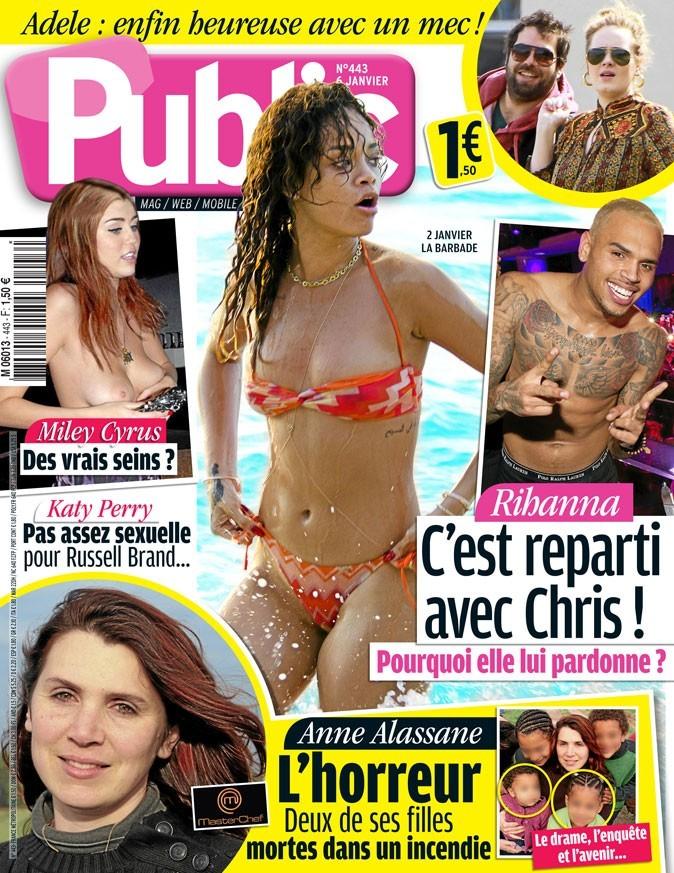 Rihanna a pardonné à Chris Brown !