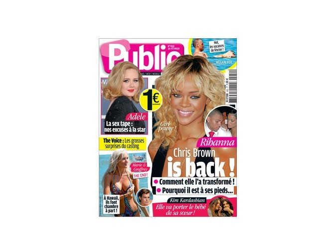 Magazine Public : existe aussi en petit format, à 1€ !