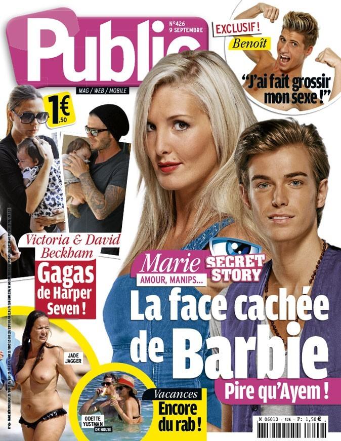 Magazine Public : Secret Story 5 : Marie en couv !