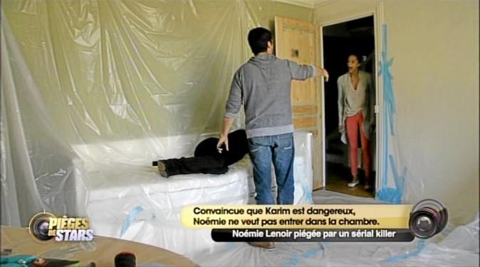 N. L. : Asmaa, tu descends, s'te plaît ! K. : Arrête de crier et entre dans la chambre deux secondes ! N. : Non ! Asmaa, s'il te plaît, desce...