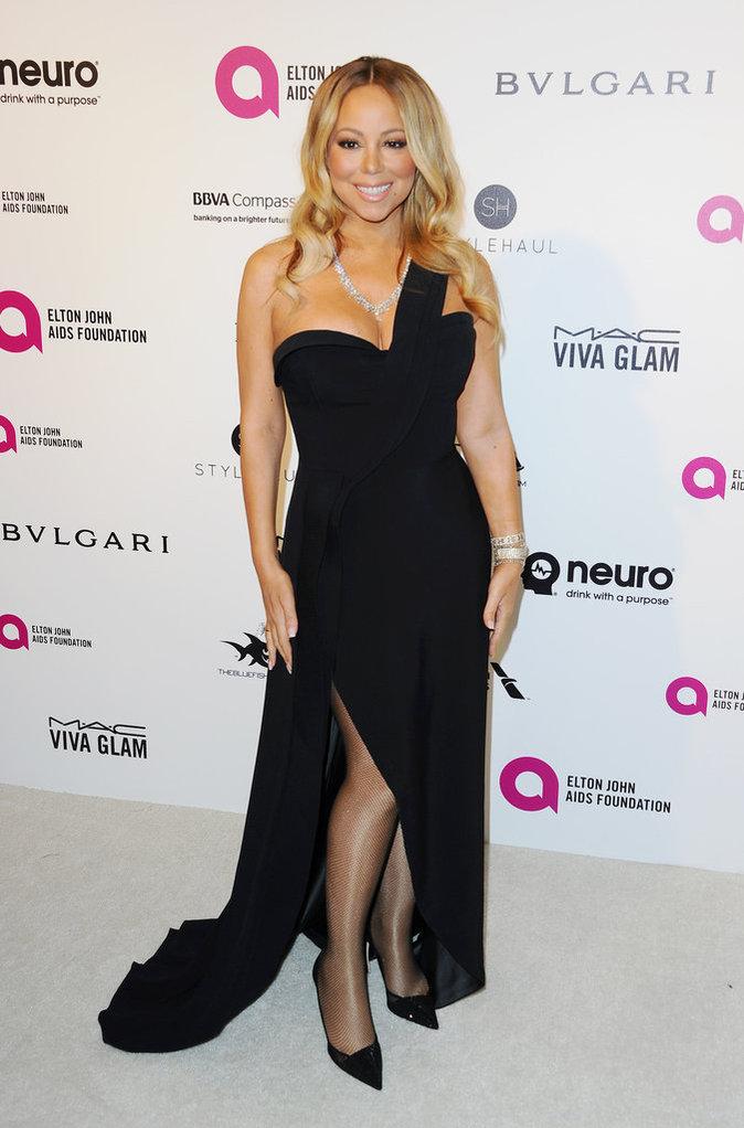 Mariah Carey resplendit en ce moment