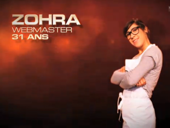 Zohra, Webmaster, 31 ans