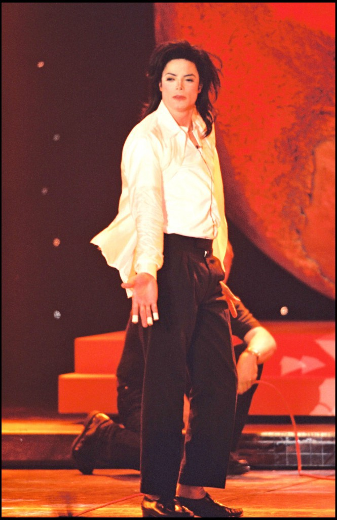 Michael Jackson sur scène