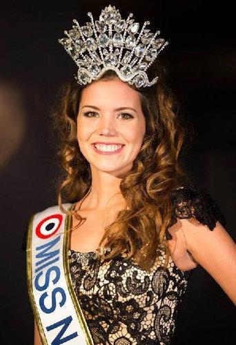 Allison Evrard qui a été élue Miss Nationale 2015