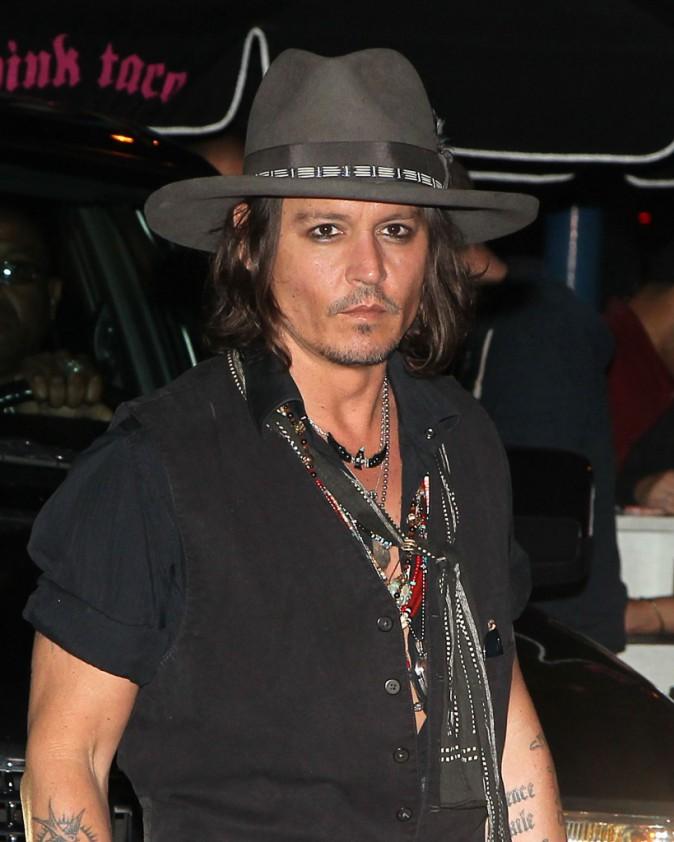 Johnny Depp - 2012