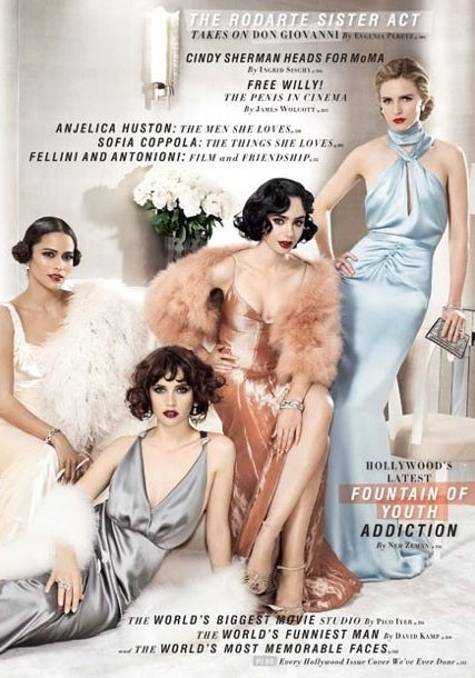 Paula Patton, Felicity Jones, Lily Collins & Brit Marling