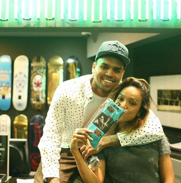 Des périodes avec et sans Chris Brown...