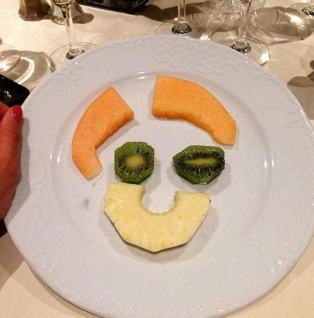 La nourriture, son pêché mignon