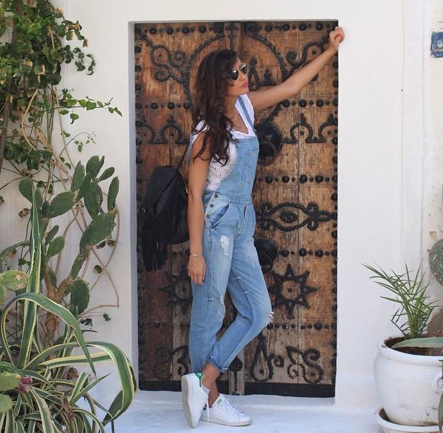 Malika en deux déclinaisons : streetwear...